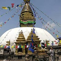 Swayambhunath Temple in