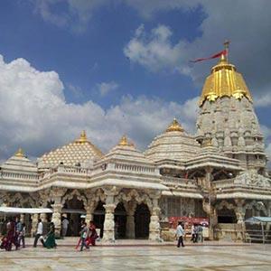 Temple of Amba Mata in Junagadh