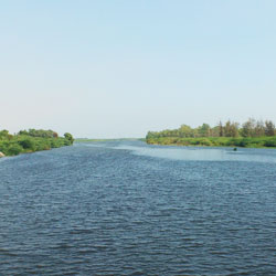 Thamirabarani River in Tirunelveli
