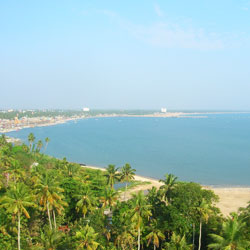 Thangasseri Beach in Kollam