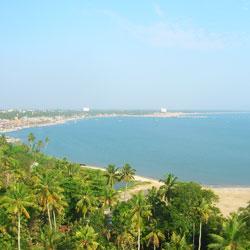 Thangasseri Beach in Kollam