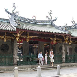 Thian Hock Keng Temple in Chinatown