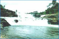 Thommankuthu Waterfalls in Idukki