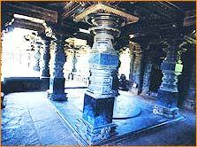 Thousand Pillar Temple in Warangal
