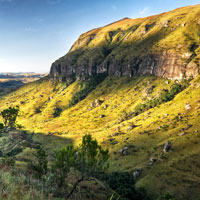 Ukhahlamba Drakensberg Park in Kwazulu Natal