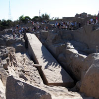 Unfinished Obelisk in Aswan