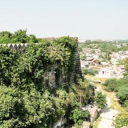Uparkot Fort in Junagadh