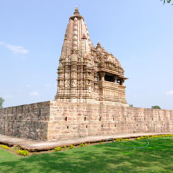 Vaman and Javari Temples in Khajuraho