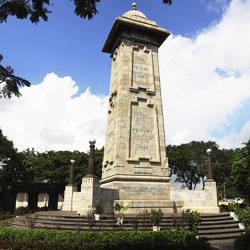 Victory War Memorial in Chennai