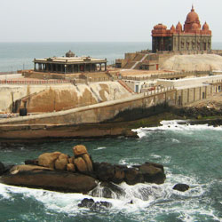 Vivekananda Memorial in Kanyakumari