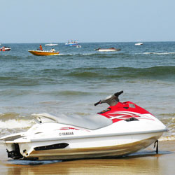 Water Sports in Calangute in Goa City