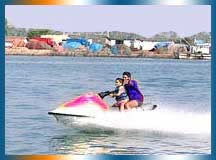 Water sports in Goa in