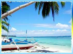 White Beach in Visayas