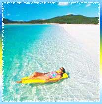 Whitehaven Beach in Sydney