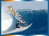 Windsurfing in Cape Town in Cape Town