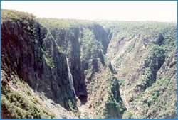 Wollomombi Falls in Sydney