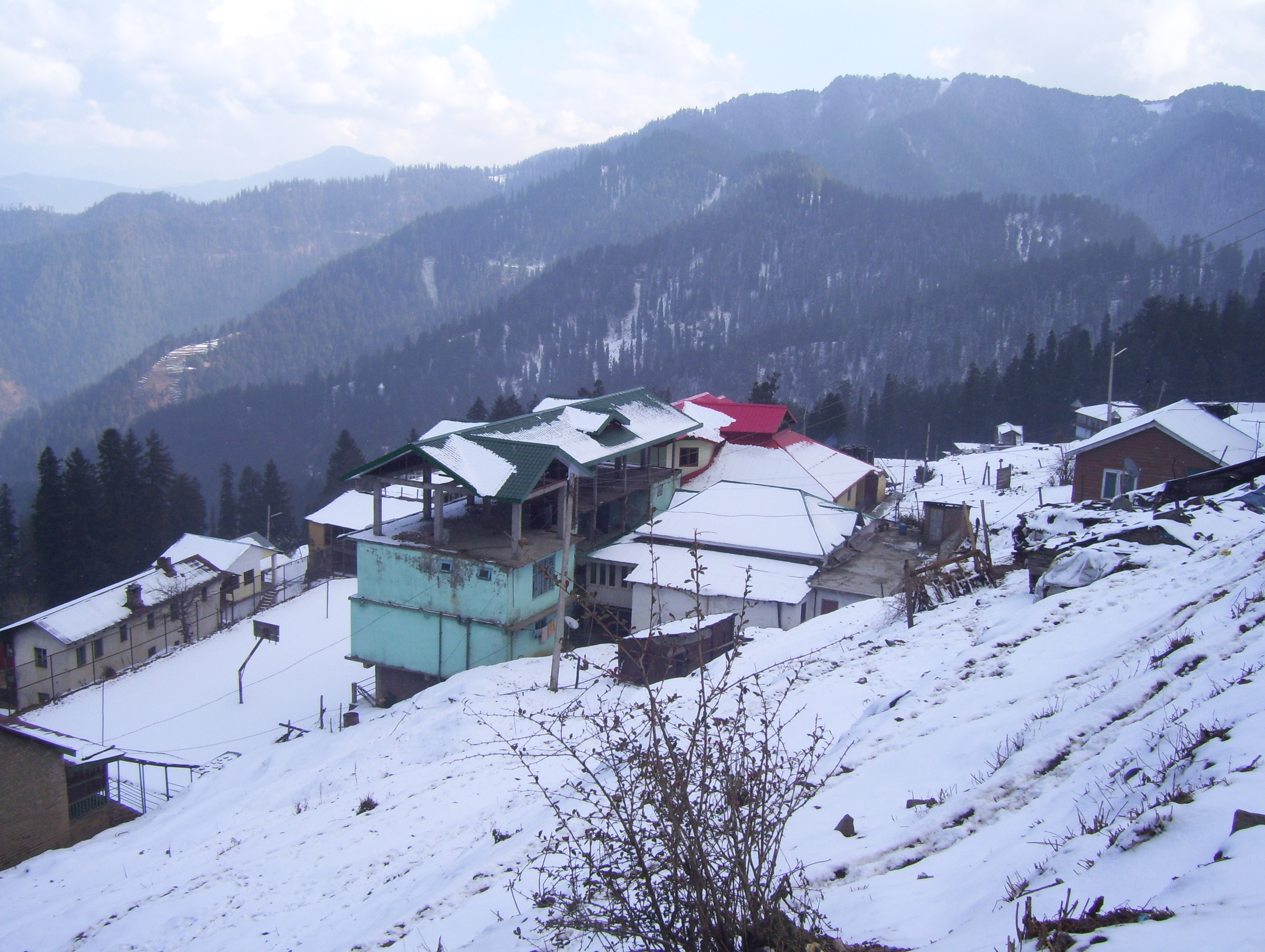 Dalhousie Dharamshala Manali 3032 Travel Package To