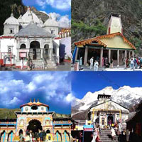 New Delhi - Rishikesh - Mussoorie - Syanachatti - Yamunotri - Uttarkashi - Gangotri - Rudraprayag - Kedarnath - Pipalkoti - Badrinath - Haridwar