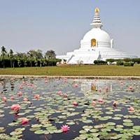 Lumbini - Kushinagar - Patna - Boudhgaya - Sarnath - Varanasi