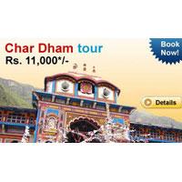 New Delhi - Haridwar - Yamunotri - Uttarkashi - Guptkashi - Kedarnath - Rudraprayag - Badrinath - Joshimath - Rishikesh