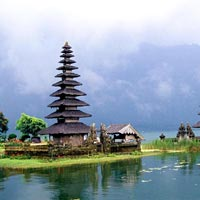 Bali Island - Kintamani Volcano - Celuk Village - Painting and Wood carving MAS Village - Mount Batur - Lake Batur - Holy Spring Water Temple