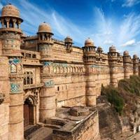 Delhi - Agra - Gwalior - Jhansi - Khajuraho - Orchha - Bhopal - Ujjain - Indore - Mandu - Maheshwar - Jalgaon - Ajanta - Ellora - Aurangabad - Mumbai