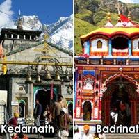 Delhi - Haridwar - Barkot - Yamunotri - Uttarkashi - Gangotri - Guptakashi - Kedarnath - Badrinath - Rudraprayag - Haridwar - Delhi