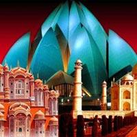 Delhi - Jaipur - Agra