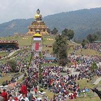 Delhi - Bagdogra - Kathmandu - Bhadrapur - Darjeeling - Gangtok - Pemayangtse - Rumtek - Puntsholing - Thimpu - Punakha - Bumthang - Paro