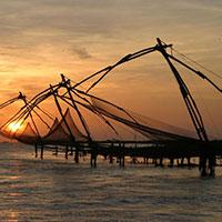 Cochin - Munnar - Thekkady - Madurai - Rameshwaram - Kovalam - Kanyakumari