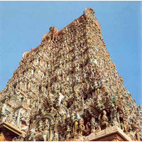 Chennai - Mahabalipuram - Kanchipuram - Pondicherry - Trichy - Madurai