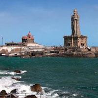 Trivandrum - Kanyakumari - Kovalam - Kottayam - Thekkady - Munnar - Cochin