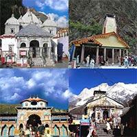 Delhi - Haridwar - Mussoorie - Janaki Chatti/ Yamunotri - Uttarkashi - Gangotri - Gaurikund - Sri Kedarnathji - Joshimath - Auli- Sri Badrinathji - Kaudiyala - Deoprayag - Rishikesh - Haridwar - Srinagar