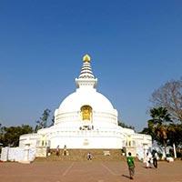 Delhi - Patna - Vishali - Rajgir - Bodhgaya - Varanasi - Kushinagar - Lumbini - Kathmandu