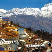 Kathmandu - Pokhara - Nayapul - Tikhedhunga - Ghorepani - Poonhill - Tadapani - Ghandruk - Pothana