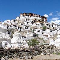New Delhi - Leh Ladakh - Likir - Yangthang - Hemis - Khardung
