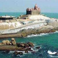 Cochin - Munna - Thekkady/Periyar - Alleppy - Kovalam - Trivendrum - Kanayakumari