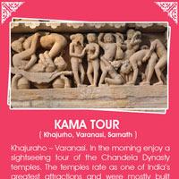 Khajuraho - Varanasi - Sarnath