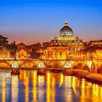Rome - Pisa - Venice - Cortina d'Ampezzo - Innsbruck - Vaduz - Lucerne - London