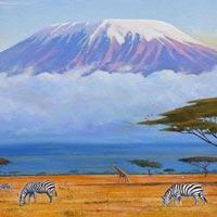 Dar Es Alaam - Tarangire - Mt Kilimanjaro - Ngorongoro - Serengeti - Lake manyara