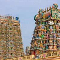 Chennai - Mahabalipuram - Pondicherry - Chidambaram - Darasuram - Tanjore - Trichy - Madurai - Periyar - Kumarakom - Houseboat - Cochin