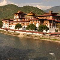 Phuntsholing - Thimphu - Paro - Punakha - Wangdue Phodrang