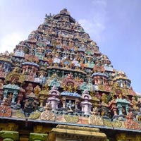 Vellur - Kanchipuram - Tiruvannamalai - Chidambaram - Pondicherry - Tiruchirappalli - Thanjavur - Kumbakonam - Madurai - Rameswaram - Kanyakumari - Chennai