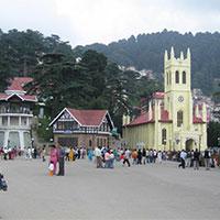 Delhi - Shimla - Kufri - Chail