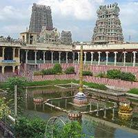 Trichy - Rameshwaram - Madurai - Palani - Thiruvannamalai - Vellore Golden Temple - Thirupathi - Kancheepuram - Chennai.