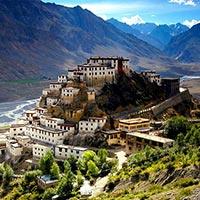 Manali - Losar - Kaza -Tabo - Kalpa - Raksham - sangla - Chitkul - Sarahan - Narkanda - Shimla