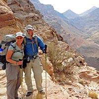 Amman - Kings Road - Dana - Feynan - Wadi Mujib - Dead Sea - Petra - Wadi Rum Trekkings - Aqaba