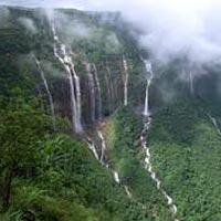 Guwahati - Shillong - Cherrapunji – Mawlynnong