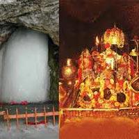 Delhi - Srinagar - Pahalgam - Sheshnag - Panchtarni - Amarnath cave - Pahalgam - Katra - Mata Vaishno Devi - Agra - Delhi