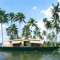Munnar - Thekkady - Alappuzha Houseboat - Kovalam - Kanyakumari